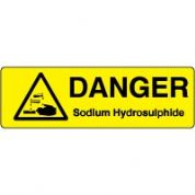Markers safety sign - Sodium 013